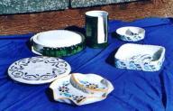 ceramiche forgiate da Christiane Amblard