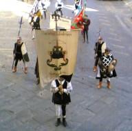 balestrieri di sansepolcro in costume storico