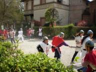 Scene della battaglia