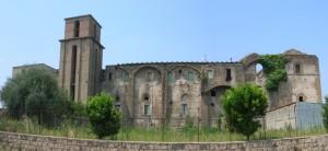 Facciata orientale del Castello