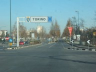 Ingresso città di Torino
