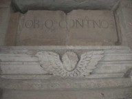 Parte di un'antica epigrafe