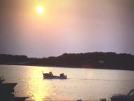 Veduta dell'Isola dei Conigli da Porto Cesareo