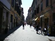 Il viale principale del centro storico