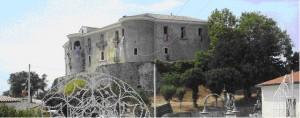 Uno scorcio del castello di Gesualdo (Av)