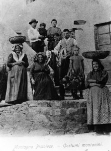 Costumi d'epoca - montagna pistoiese