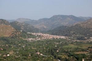 Veduta di Francavilla di Sicilia