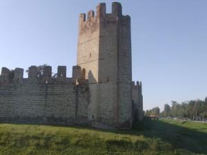 Scorcio delle mura