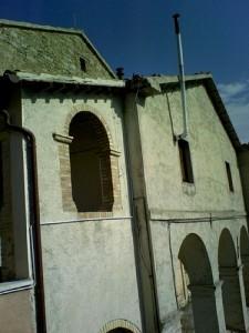 Facciata del convento