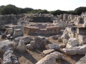 Il battistero paleocristiano di Senafer