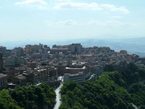 Centro storico visto dal Castello di Lombardia
