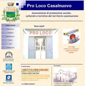 Sito della ProLoco di Casalnuovo