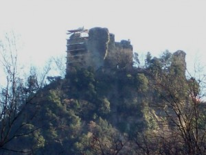 Veduta della Rocca di Cerbaia