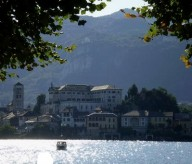 Vista dell'Isola di San Giulio