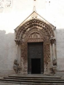 Portale della Cattedrale di Altamura