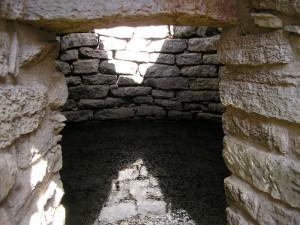 Interno del pozzo sacro, Funtana Coberta