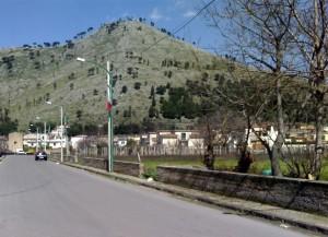 Veduta di Castel San Giorgio