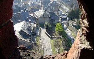 Veduta cittadina dalla torre del castello