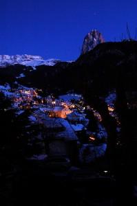 Immagine serale di Ortisei