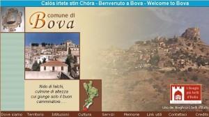 Il sito www.comunedibova.it