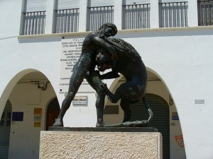 Piazza Eraclea-Statua di Ercole