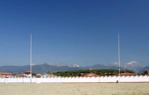 La spiaggia di Forte dei Marmi