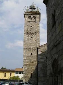 Il campanile della Basilica di San Vittore
