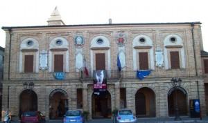 il palazzo Comunale di Potenza Picena