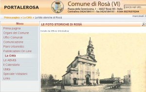 Rosà - il sito del comune