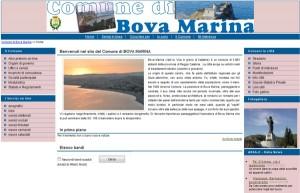 Sito Comune di Bova Marina