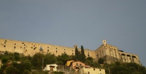 Scorcio del castello Malaspina