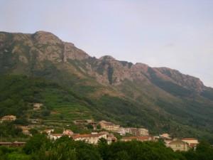 Scorcio dei Monti Lattari