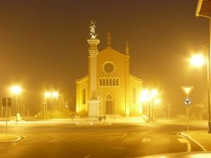 La chiesa di Fagnigola