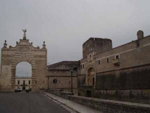 Ingresso del Castello di Copertino
