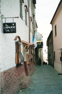 Uno dei vicoli di Seborga