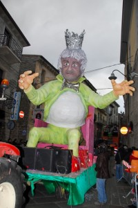 Re Giorgio, Carnevale di Tempio Pausania