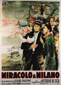 Locandina del film Miracolo a Milano