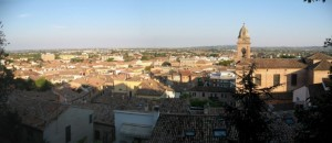 Panorama di Santarcangelo di Romagna
