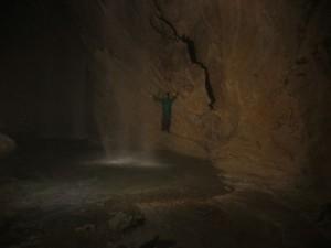 La cascata sotterranea