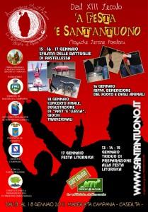 Manifesto della Festa di Sant´Antuono 2011