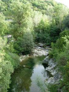 Il fiume Volturno