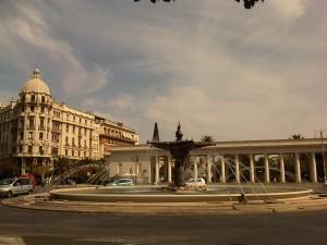 Scorcio di Piazza Cavour