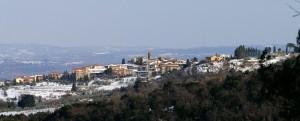 Veduta di Gambassi Terme