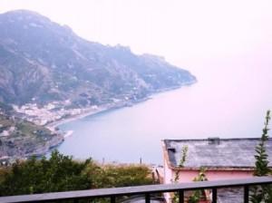 Veduta dalla terrazza di Ravello