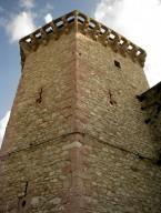 torrione principale di Vallo di Nera