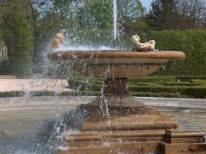 """La fontana dei giardini della """"Reggia di Colorno"""""""