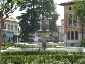 La Fontana tra i giardini di Ponte di Piave