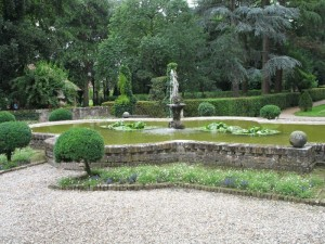 Fontana al parco di Grazzano Visconti