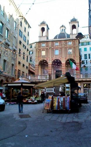 Genova - fronte del porto