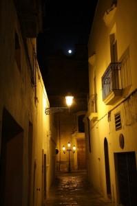 La luna c'è…